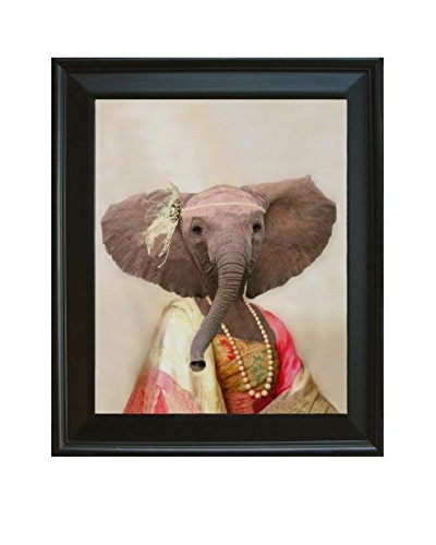 Elinor The Elegant Elephant Framed Giclée Print