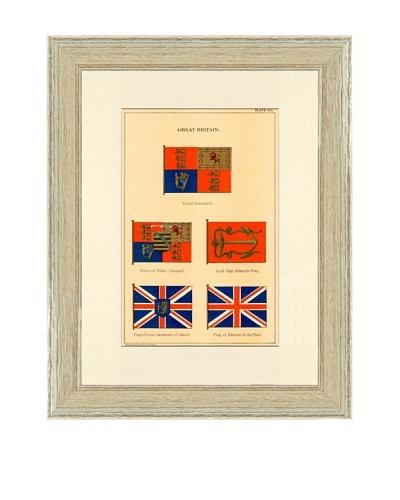 Great Britain Nautical Flag Print