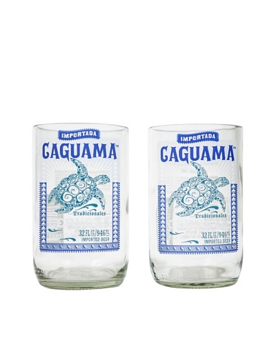 Set of 2 Caguama Beer Tumblers