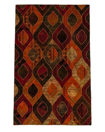 Hand-Knotted Andelz Wool Rug, Dark Red/Orange, 5' 2 x 8' 1