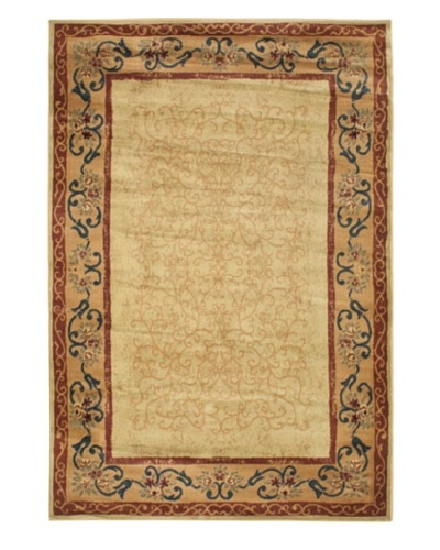 Jardiniere Rug, Beige/Light Gold, 5' 3 x 7' 9