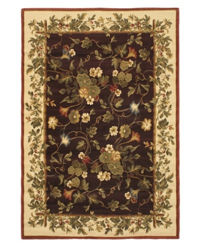 Jardiniere Rug, Dull Red, 5' 3 x 7' 7
