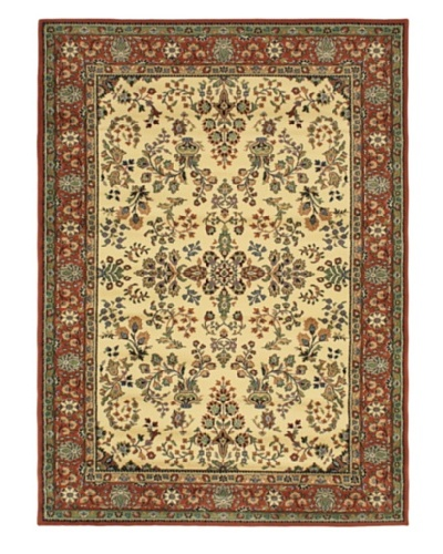 Jardiniere Rug, Copper/Cream, 5' 5 x 7' 5