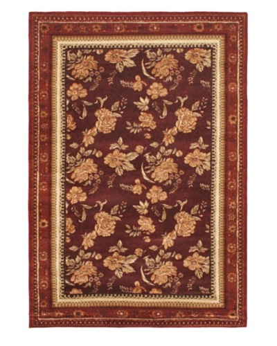 Chateau Versailles Rug, Dark Red, 5' 3 x 7' 7
