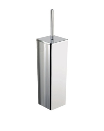 Nameek's Oriente Free-Standing Toilet Brush Holder, Polished Chrome
