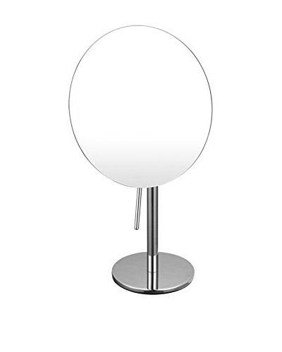 Nameek's Glimmer Single Sided 3X Makeup Mirror, Chrome