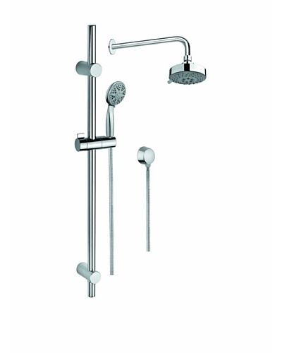 Nameek's Multi-Jet Shower Column Set, Polished Chrome
