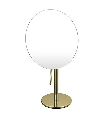Nameek's Glimmer Single Sided 3X Makeup Mirror, Gold