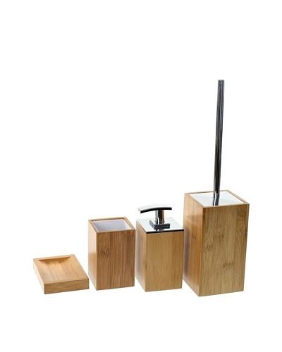 Nameek's 4-Piece Cubico Bath Set, Natural