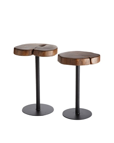 Napa Home & Garden Set of 2 Timbers Tables