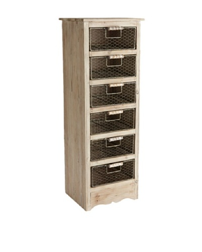 Napa Home & Garden Rustic Wooden 6-Drawer Chest