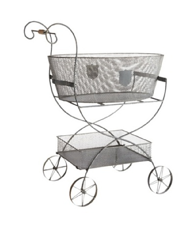 Napa Home & Garden Metal Decorative Garden Cart