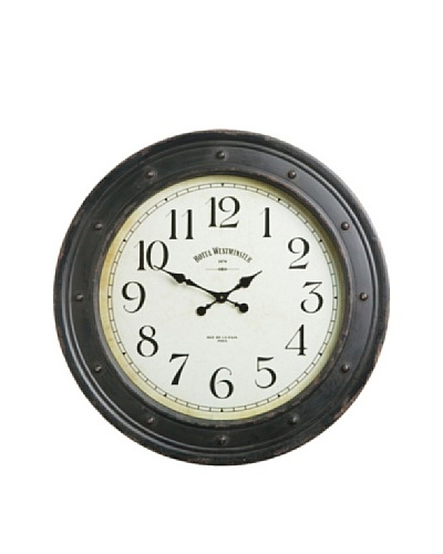 Napa Home & Garden Antique Style Wall Clock