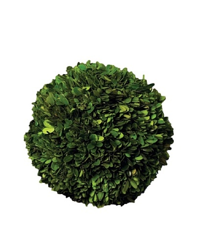 "Napa Home and Garden 10"" Boxwood Topiary Ball"