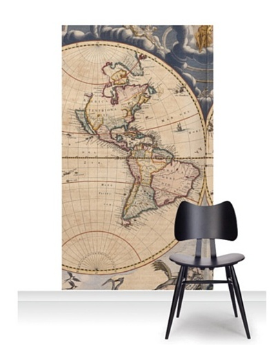National Maritime Museum Bleau Atlas Mural [Accent]