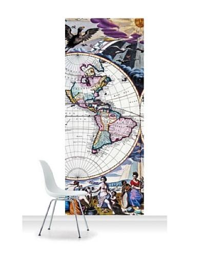 National Maritime Museum Goos Atlas Planisphere Standard Mural [Accent]