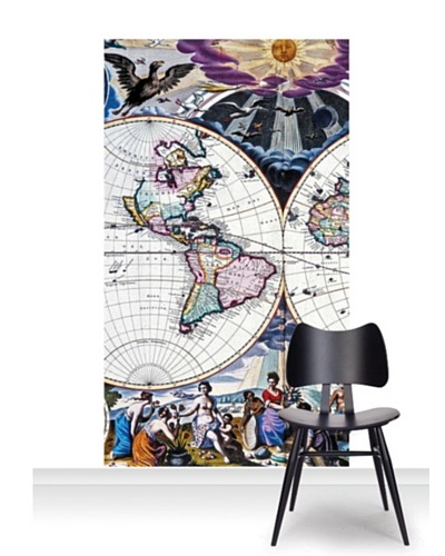 National Maritime Museum Goos Atlas Planisphere Mural [Accent]