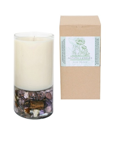 Natura Candles Lavender Fields Botanical Decorative Candle
