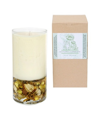 Natura Candles Hibiscus and Honeysuckle Botanical Decorative Candle