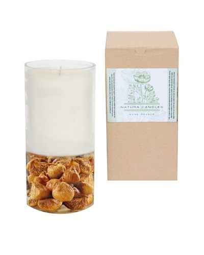Natura Candles Ginger Citrus Decorative Candle