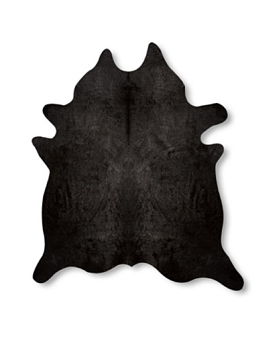 Natural Geneva Cowhide Rug [Black]