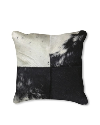 Natural Brand Torino-Quatro Pillow, Black/White