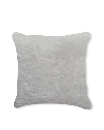 Natural Brand Nelson Sheepskin Pillow, Natural, 16 x 16