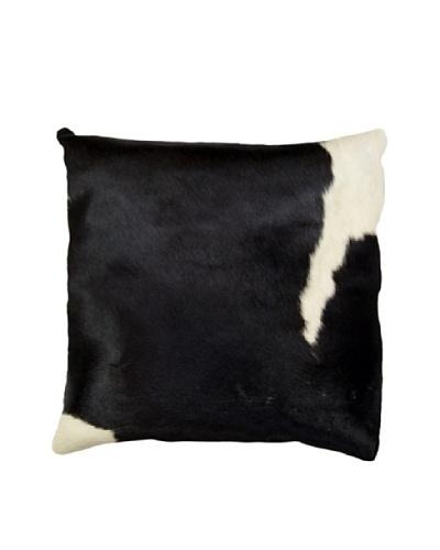 Natural Brand Torino Cowhide Pillow, Black & White