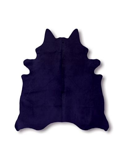 Natural Brand Geneva Cowhide Rug, Navy, 7' x 5' 5