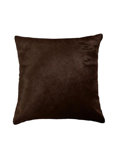 Natural Brand Torino Cowhide Pillow, Brown, 16 x 16
