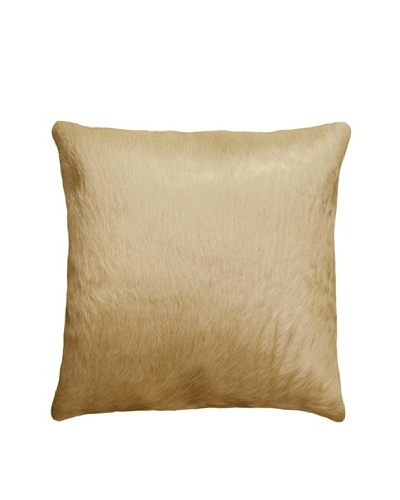 Natural Brand Torino Cowhide Pillow, Tan