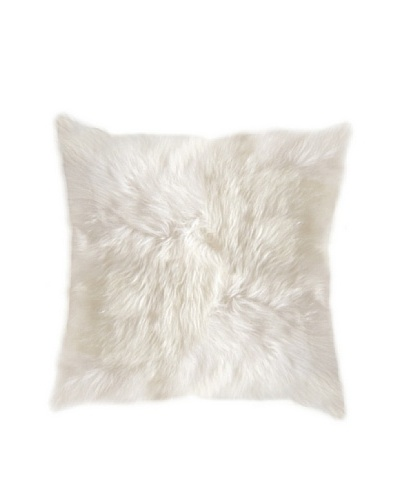 Natural Brand New Zealand Sheepskin Pillow, Natural