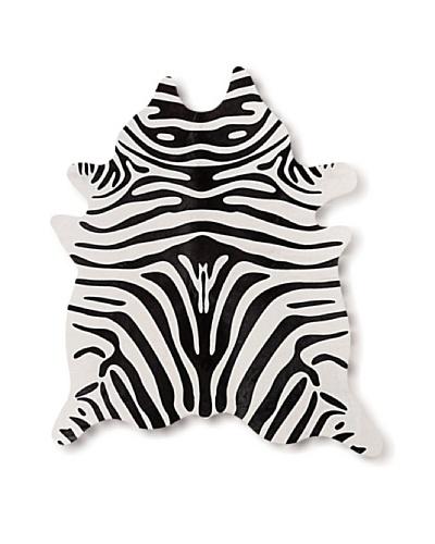 Natural Brand Togo Cowhide Rug [Black/White Zebra]