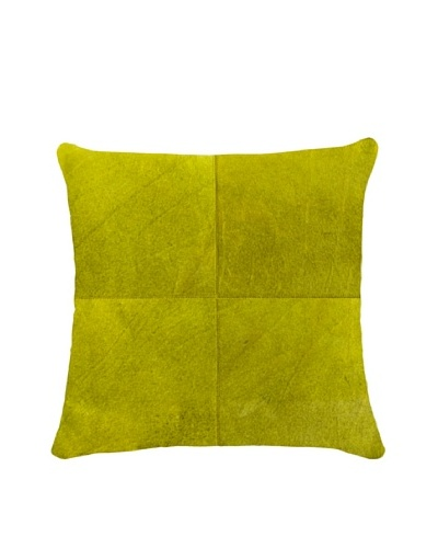 Natural Brand Torino Quatro Large Pillow, Yellow