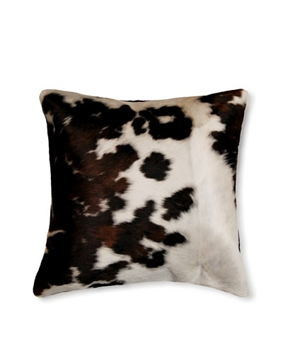 Natural Brand Torino Cowhide Pillow, Tri-Color