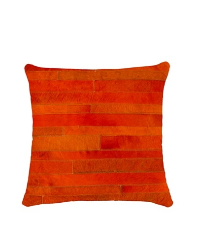 Natural Brand Torino Madrid Pillow, Orange