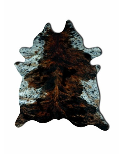 Natural Brand Kobe Cowhide Rug, Tri-Color, 7' x 5' 5