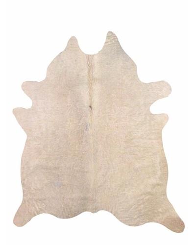 Natural Brand Geneva Cowhide Rug, Natural, 6' x 7'