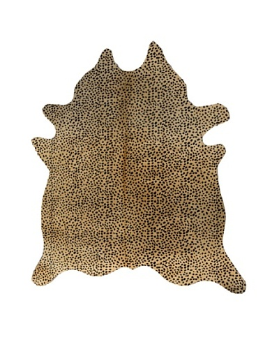 Natural Brand Togo Cowhide Rug, Cheetah, 7' x 5' 5