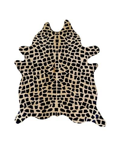Natural Brand Togo Cowhide Rug, Giraffa, 7' x 5' 5