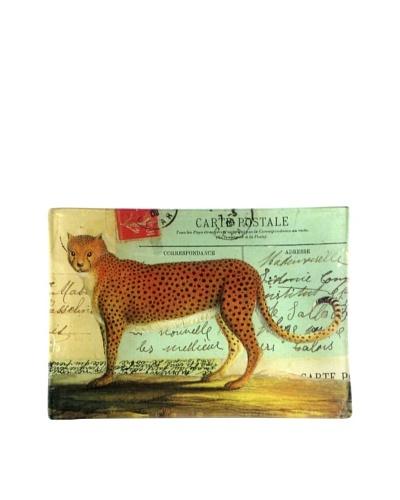 Victoria Fischetti Cheetah on Postcards Handmade Decoupage