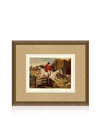1879 Equestrian Print IV