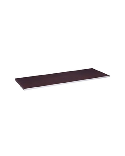 Neu Home Wood Tabletop Shelf, Walnut