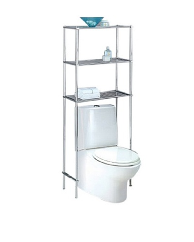 Neu Home Metro Over The Toilet Spacesaver, Chrome