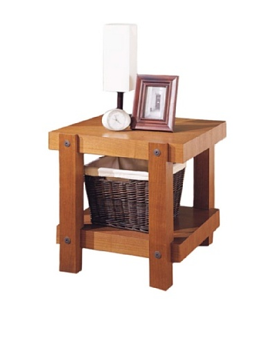 Neu Home Robust End Table, Brown