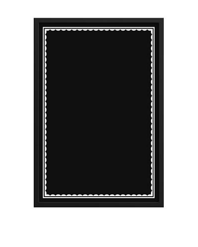 New Era Art Border IV Chalkboard, 22 x 32
