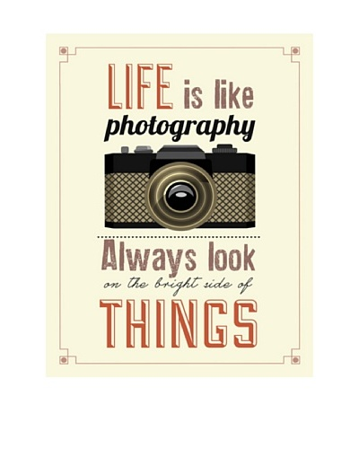 New Era Art Life is Life Photography Wall Decal, 14 x 18As You See