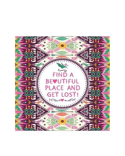 New Era Art Find a Beautiful Place  Wall Decal, 14 x 14As You See