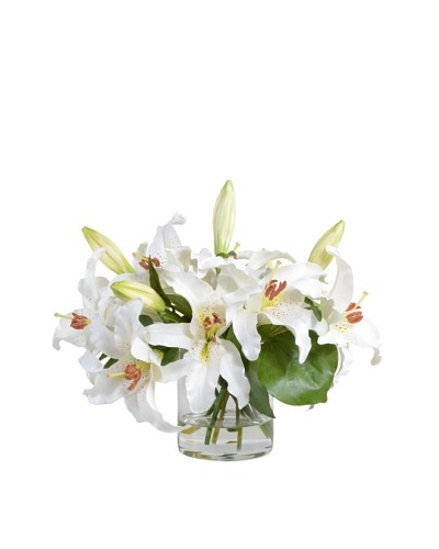 New Growth Designs White Lily Arrangement
