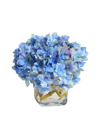 New Growth Designs Blue Hydrangea Vase